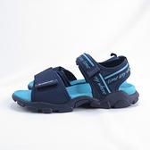 LOTTO 美型健走運動涼鞋 厚底 避震耐磨 LT0AWS2076 女款 藍【iSport愛運動】