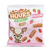 HOURS 皮皮奧斯 有機泡芙條-草莓10g【佳兒園婦幼館】