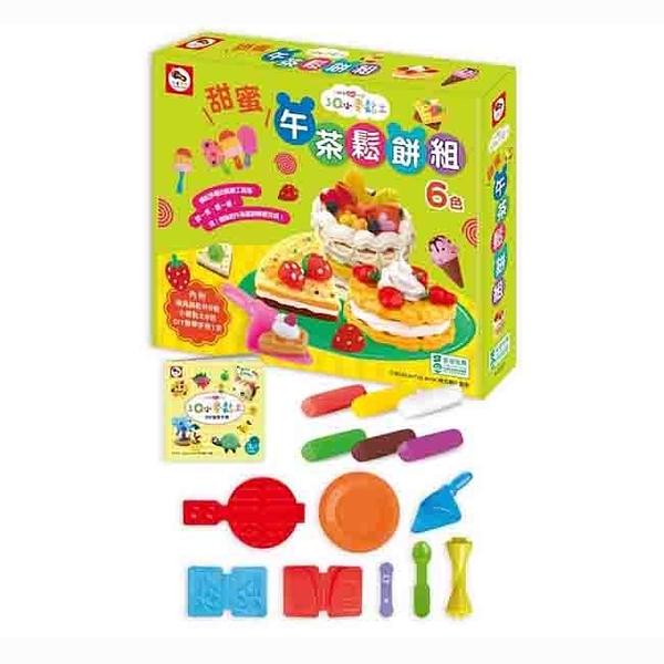 【Enjoy】3Q小麥黏土-甜蜜午茶鬆餅組 A10201