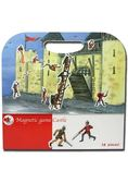 比利時 Egmont Toys 艾格蒙繪本風遊戲磁貼書:守護快樂堡