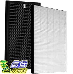 9東京直購] 加濕空氣清淨機濾網 FZ-D50HF/FZ-D50DF 除臭集塵 HEPA濾網 1套