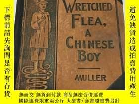 二手書博民逛書店【罕見】Story of Wretched Flea A Chi