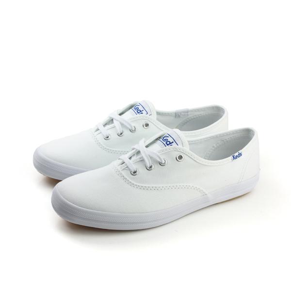 Keds CHAMPION WHITE CANVAS 帆布鞋 休閒鞋 經典款 白