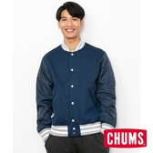 CHUMS 男 Teeshell 防水棒球外套 深藍 CH041108N018