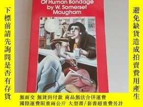 二手書博民逛書店of罕見human bondage by w.somerset maughamY273906 jane smi