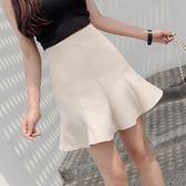 大尺碼魚尾裙半身裙女 2018新款一步裙韓版高腰包臀短裙AW911【棉花糖伊人】