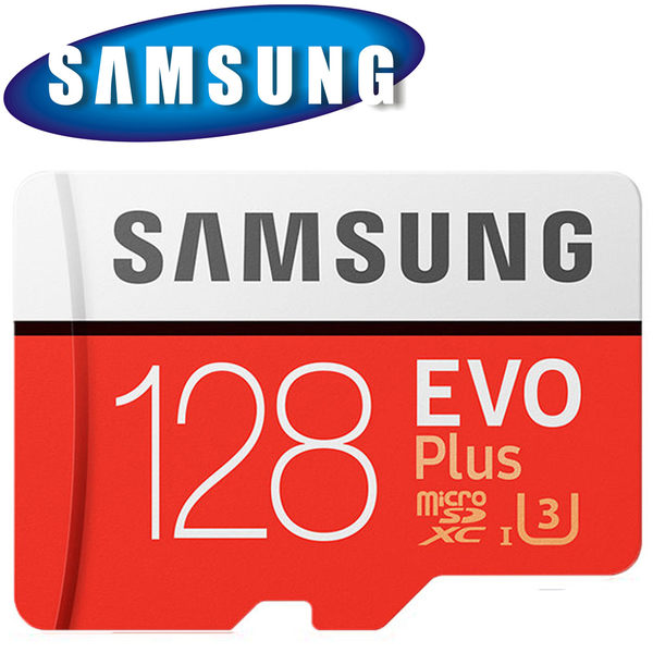 SAMSUNG 三星 128GB 128G 100MB/s EVO Plus microSDXC TF U3 C10 記憶卡