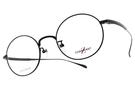 CHARMANT-Z 光學眼鏡 ZT19818 BK (黑) 鈦金屬系列百圓框款 平光鏡框 # 金橘眼鏡