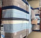 單人【薄被套+薄床包】(3.5*6.2尺)/單人高級三件式100%純棉『海藍之愛』御元居家-MIT