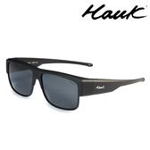 HAWK 新型薄框偏光太陽眼鏡套鏡(2用)HK1022-02