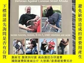 二手書博民逛書店Striking罕見Defenses Street Attacks 《美式街頭無限制格鬥術》美國 英文書,171頁