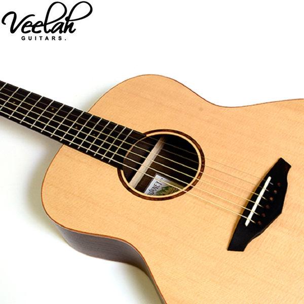 【Tempa】Veelah MC-R 單板雲杉木36吋民謠旅行吉他
