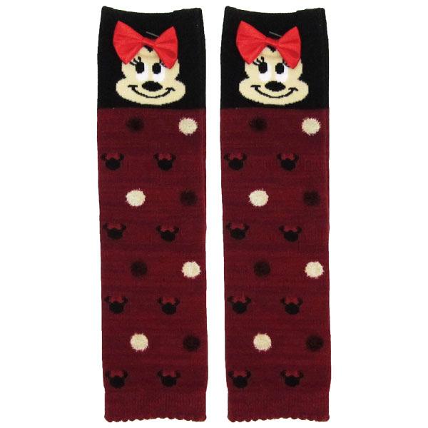 日本Disney 迪士尼 米妮造型腳套/襪套/童襪