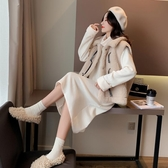 孕婦洋裝 孕婦裝秋冬款洋裝長款辣媽時尚款秋裝【免運直出】