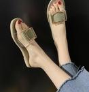 拖鞋女外穿夏天新款網紅韓版時尚