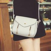 小包包斜背包新款女包百搭單肩貝殼包簡約迷你零錢手拿包「爆米花」