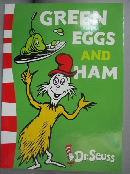 【書寶二手書T4/電玩攻略_NFR】Dr. Seuss Green Back Book: Green Eggs and Ham_Dr. Seuss