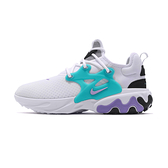 Nike React Presto 男鞋 白色 水藍紫黑 魚骨 運動 休閒鞋 AV2605-101