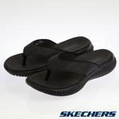 SKECHERS 男休閒系列 拖鞋 ELITE FLEX-51718BBK