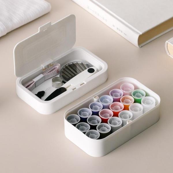 日本針線盒套裝家用裝針線收納包學生宿舍小型手縫針線縫韌活工具 夏季新品