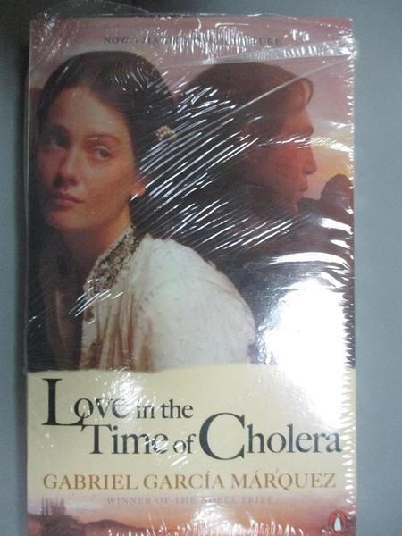 【書寶二手書T3/原文小說_MHW】Love in the Time of Cholera_Gabriel García Márquez