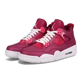 Nike Air Jordan 4 Retro GS Valentine's Day 桃紅 白 情人節 喬丹 四代 女鞋 大童鞋【PUMP306】 487724-661