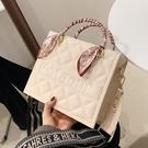 高級感包包女夏2021新款潮時尚百搭洋氣手提包網紅爆款斜挎小方包「時尚彩紅屋」