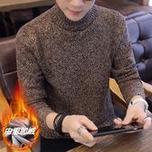 毛衣新款高領毛衣韓版修身毛線衣男士冬季