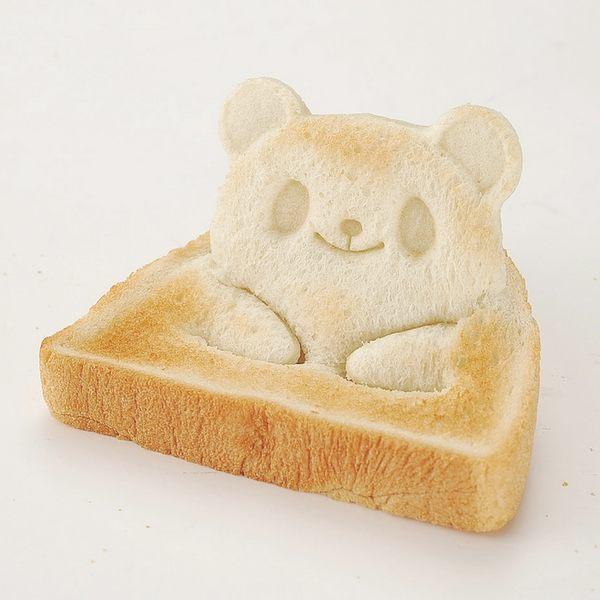 青蛙熊貓立體三明治吐司模