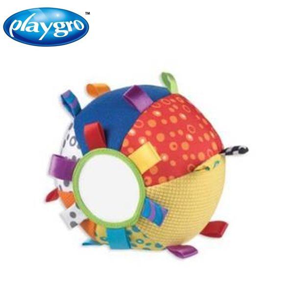 澳洲 PLAYGRO 叮噹球布質玩具