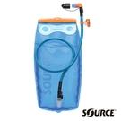 【SOURCE 以色列】WIDEPAC PREMIUM KIT 抗UV濾嘴蓋水袋2L『藍』大開口 2061720202 吸管水袋