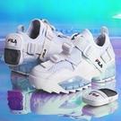 FILA UNIT 女款 限量 休閒鞋 異材質拼接 後跟造型小包 5XM01143125 白【iSport愛運動】