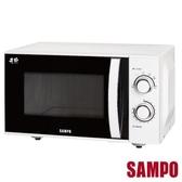 【聲寶SAMPO】25L平台機械式微波爐 RE-N725PR  *免運費*