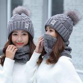 加絨帽子女防寒可愛保暖帽子針織女毛線帽子女冬旅游裝備   蜜拉貝爾