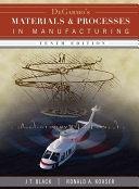 二手書博民逛書店《DeGarmo s Materials and Processes in Manufacturing》 R2Y ISBN:047005512X