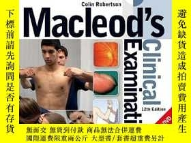 二手書博民逛書店Macleod s罕見Clinical Examination