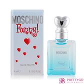 MOSCHINO 莫斯奇諾 愛情趣女性淡香水 Funny(4ml)-香水公司貨【美麗購】