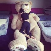 公仔 生日禮物卡通公仔2米泰迪熊毛絨玩具熊一米八大熊大號布娃娃送女友全館免運