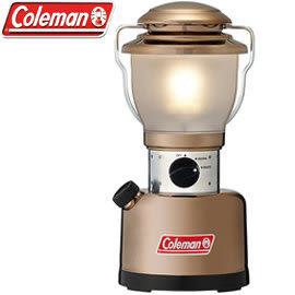 【偉盟公司貨】丹大戶外【Coleman】美國復古電子高亮度LED300流明營燈香檳金CM-6969