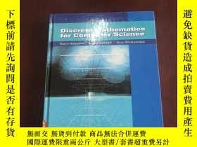 二手書博民逛書店Discrete罕見Mathematics for comput