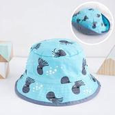 獨眼章魚印花漁夫帽 帽子 遮陽帽 童帽
