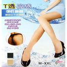 全透明透膚絲襪    T透涼感  台灣製 捷莉絲