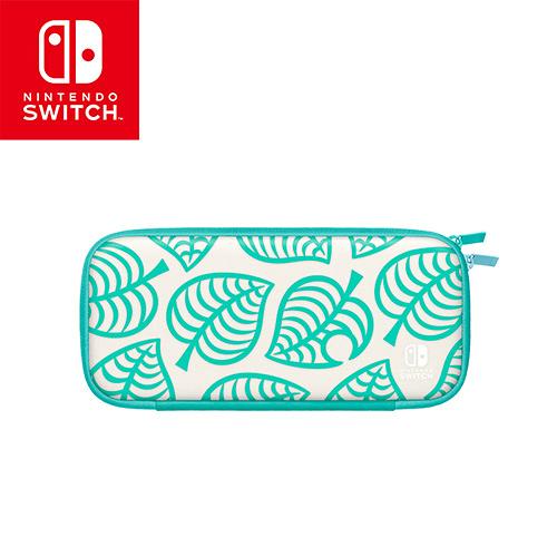 任天堂Switch 主機便攜包 集合啦!動物森友會版(附螢幕保護貼)【愛買】