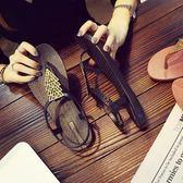 夾腳涼鞋女學生百搭平底夾趾休閒軟底防滑羅馬沙灘涼鞋 祕密盒子