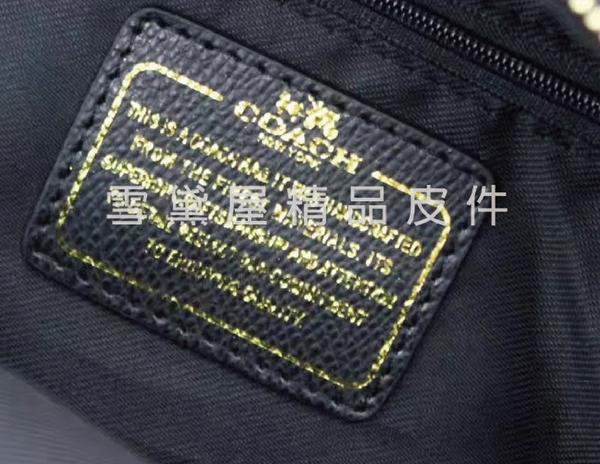 ~雪黛屋~COACH 後背包可愛Q版超小容量國際正版保證100%進口防水防刮皮革附品證購證C383021
