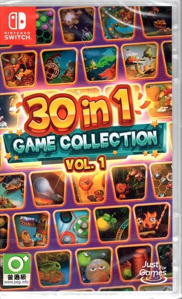現貨 Switch遊戲 NS 30合1 遊戲合集 Vol 1 30-in-1 Game Collect英文版【玩樂小熊】