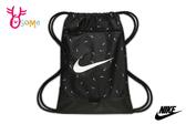 NIKE BRASILIA 訓練印花健身袋 素口輕便袋 A0514#黑色◆OSOME奧森鞋業