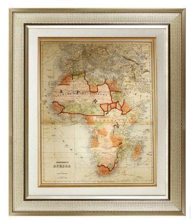 世界版圖地圖掛畫 歐式壁畫
