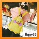 後背包雙肩包可愛素色包帆布小雞鸚鵡書包女生包女包包-黃/白/粉【AAA3893】預購