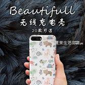 背夾充電寶  禮頌蘋果6背夾充電寶可愛iphone6s便攜7plus電池超薄8手機殼·夏茉生活